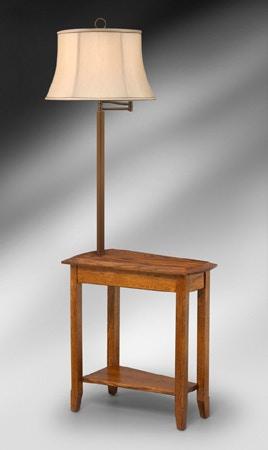 Medallion Lighting Amish Floor L& Table 528964  sc 1 st  Kittleu0027s Furniture & Medallion Lighting Accessories Amish Floor Lamp Table 528964 ...