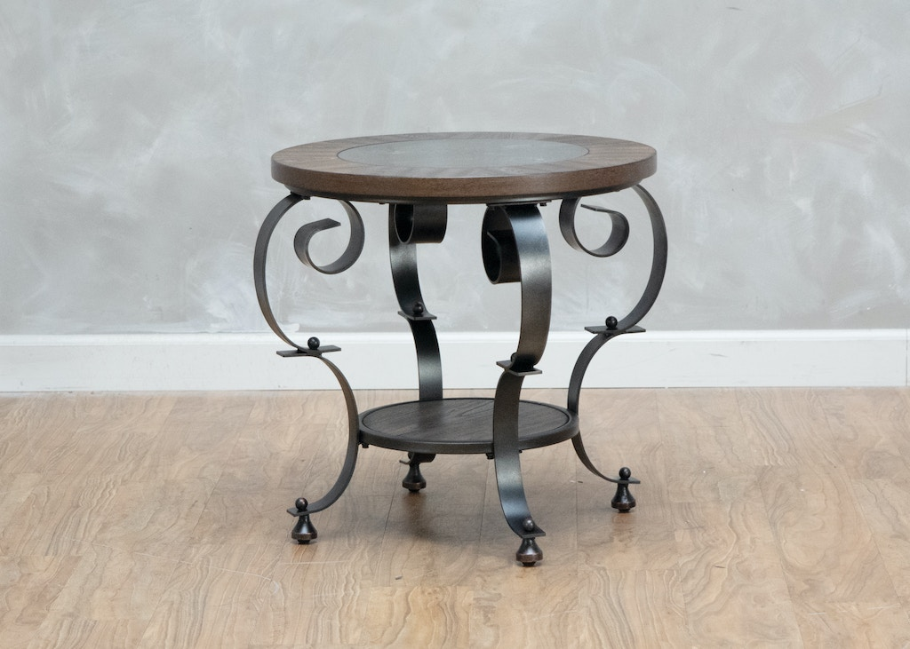 Highmoor Round End Table