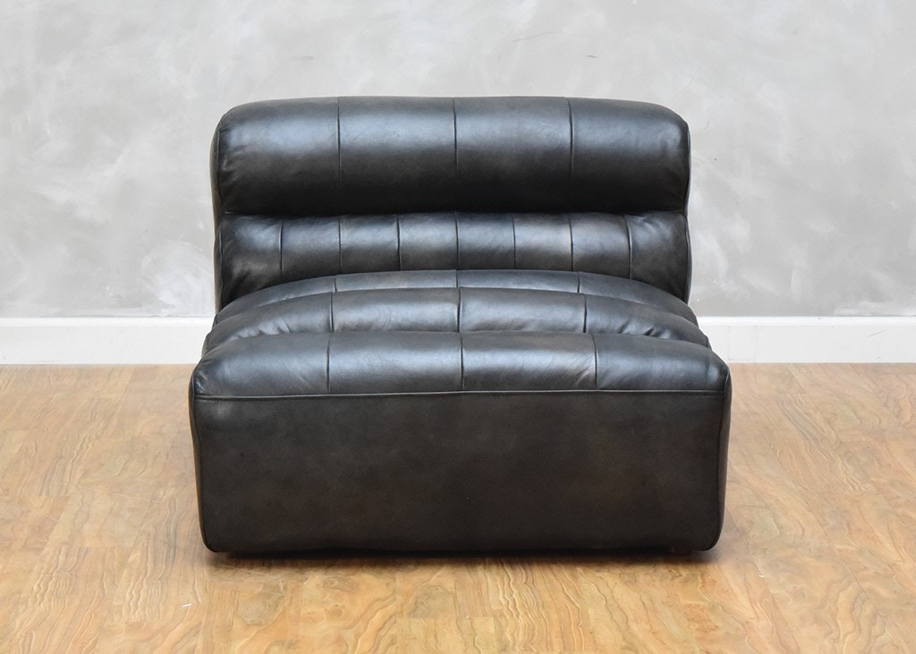 Magnificent Ramsey Leather Slipper Chair Ibusinesslaw Wood Chair Design Ideas Ibusinesslaworg