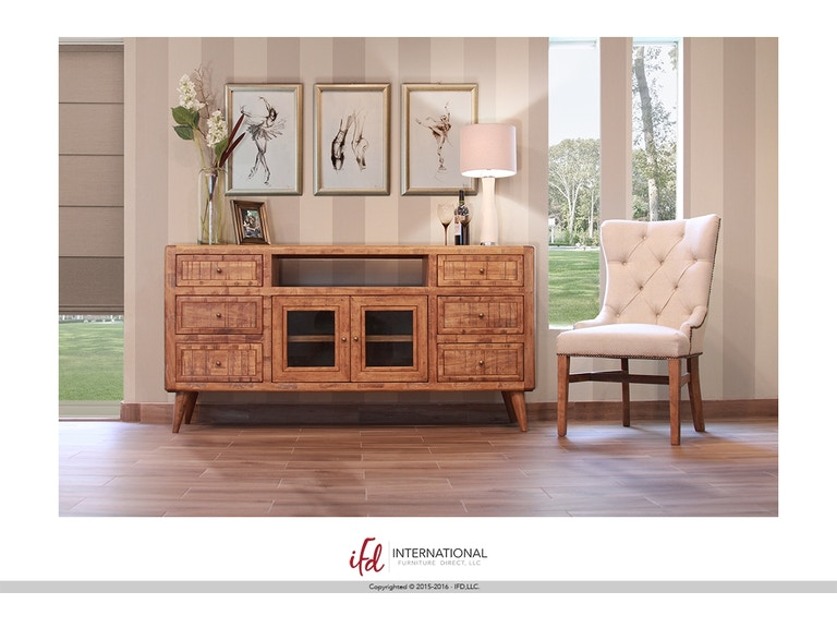 International Furniture Direct Retro 70 Tv Stand 7464200