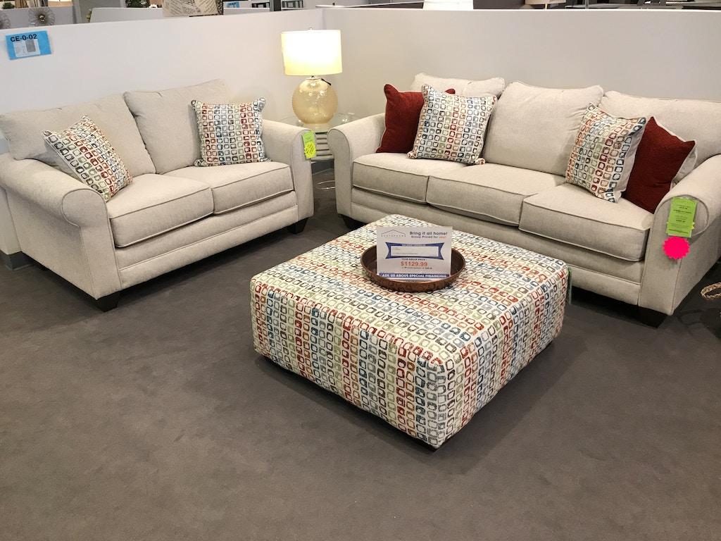 Sofa Loveseat And Ottoman