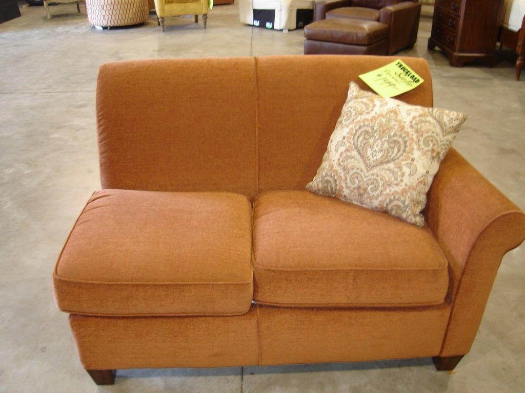 Slone Clearance Center Living Room Flexsteel RAF Loveseat 362 At Slone  Brothers