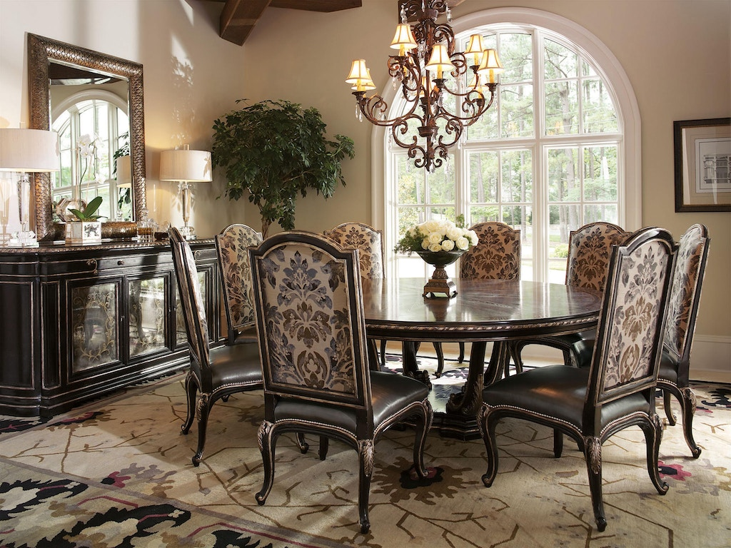 Marge Carson Dining Room Piazza San Marco Dining Table PSM08-1 ...