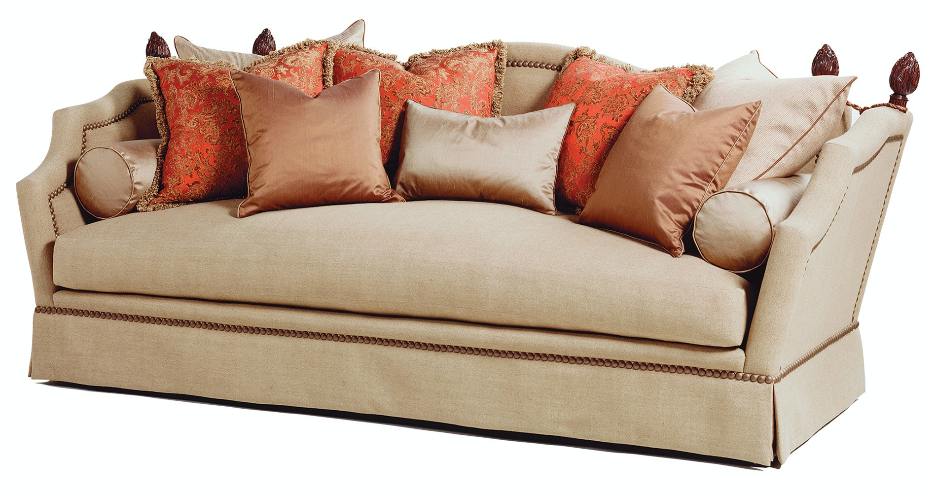 Marge Carson Living Room Francesca Sofa FA43 Noel Furniture