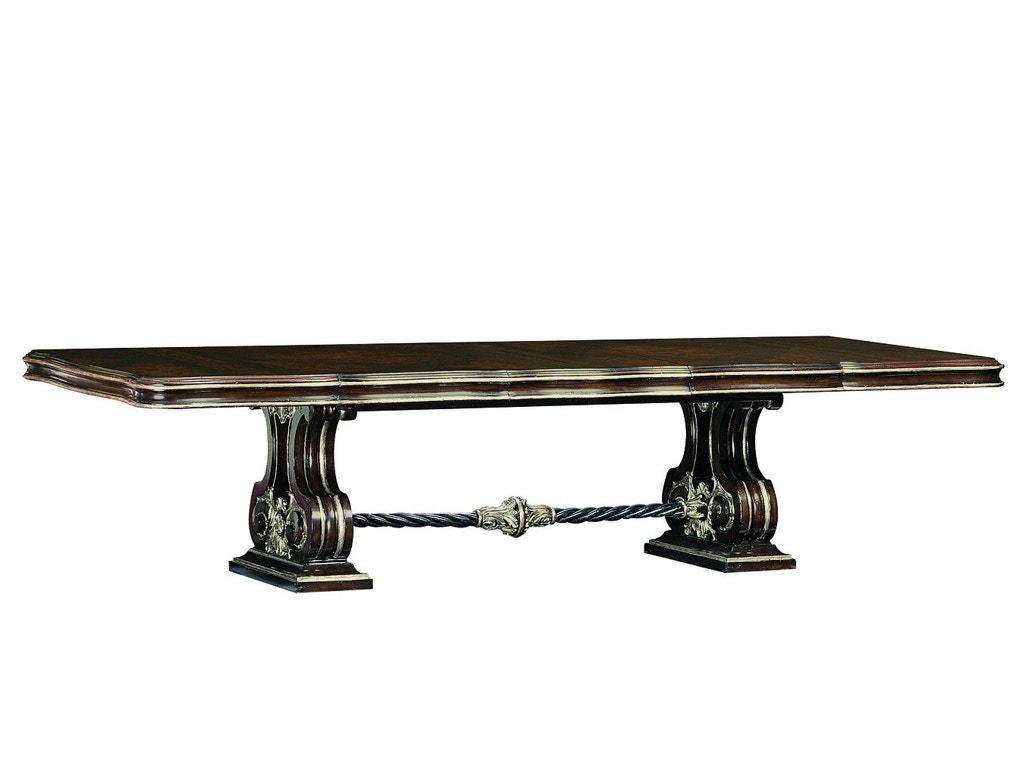 Marge Carson Piazza San Marco Dining Table PSM21 1