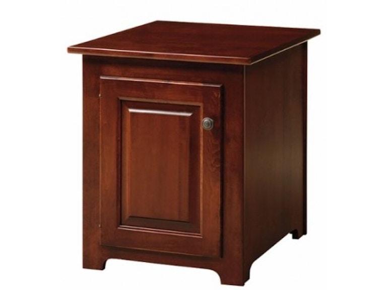 Nisley Cabinet One Door Storage End Table 55