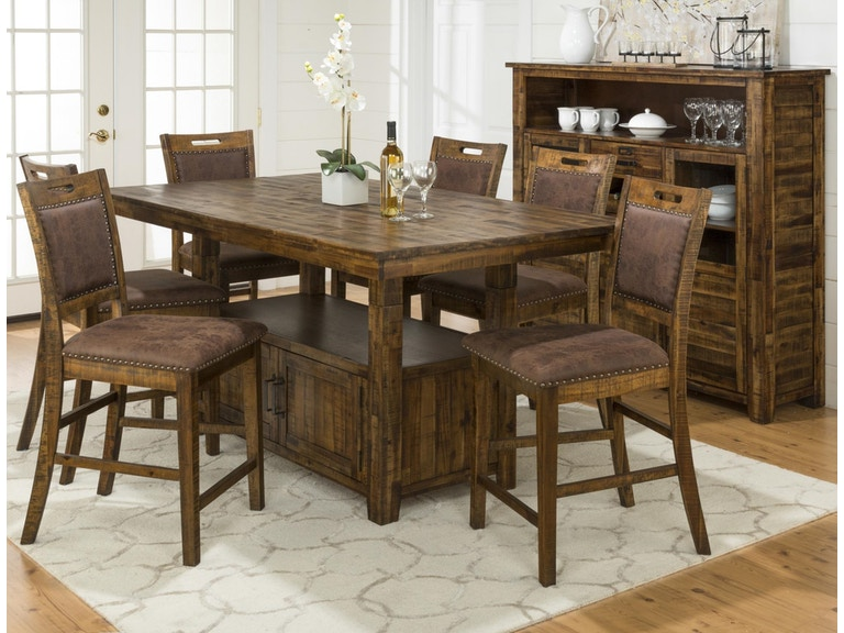 Jofran Dining Room Table/Chairs K698001 - Hansens Furniture ...