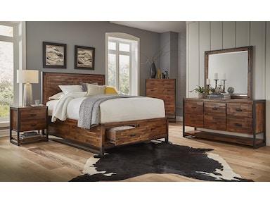 master bedroom set. 509018  Bedroom Set Loftworks Master Sets Hansens Furniture Modesto and Winton