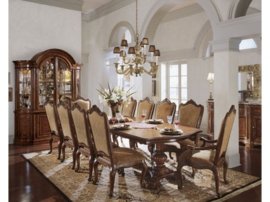 Universal Dining Room Table Top 600217017 Hansens Furniture Modesto And Winton Ca Showrooms