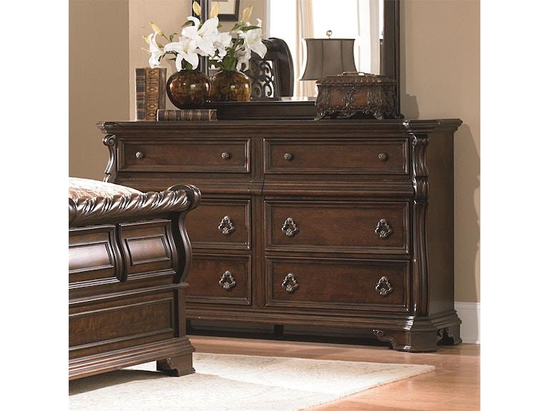Liberty Bedroom 8 Drawer Dresser Mirror 542024 Hansens Furniture
