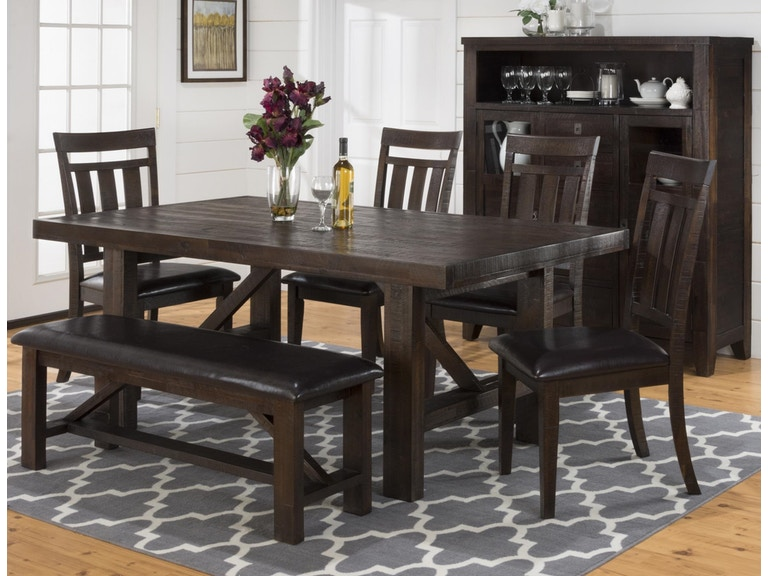 Jofran Dining Room Table/Chairs K698007 - Hansens Furniture ...