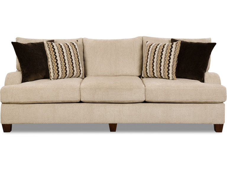 Simmons Upholstery Living Room Sofa 200067 Available At Hansens Furniture In Modesto And Winton Ca Locations