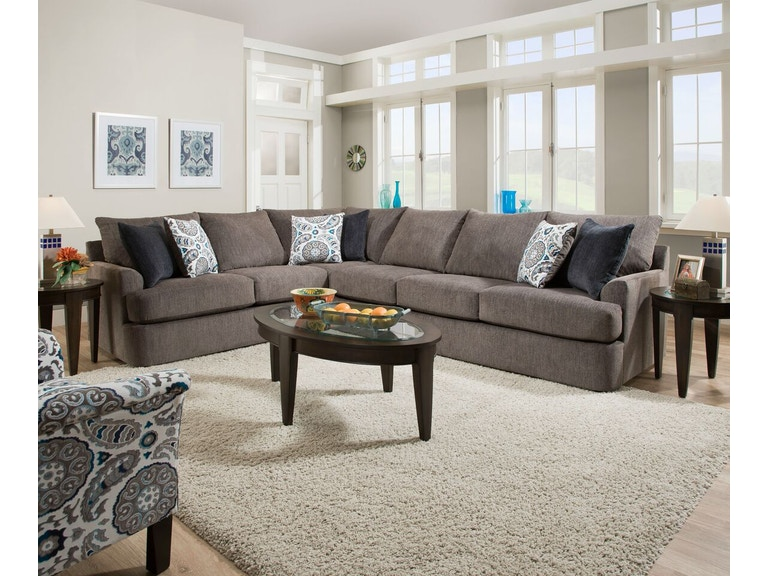 Simmons Upholstery Living Room Sectional 298001010 Available At Hansens Furniture In Modesto And Winton Ca Locations Quality