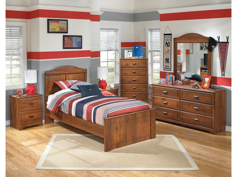 hansen's exclusives youth bedroom suite youth vintage - hansens