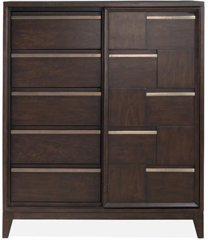 Magnussen Home Bedroom Sliding Door Chest 554040 Hansens Furniture Modesto And Winton Ca