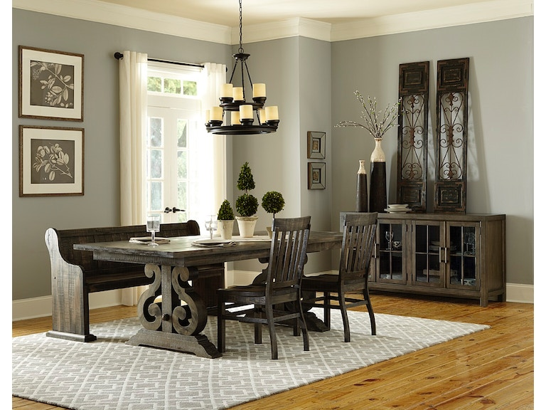 Magnussen Home Dining Room TableChairsBench Dining TableChairs Inspiration Magnussen Dining Room Furniture