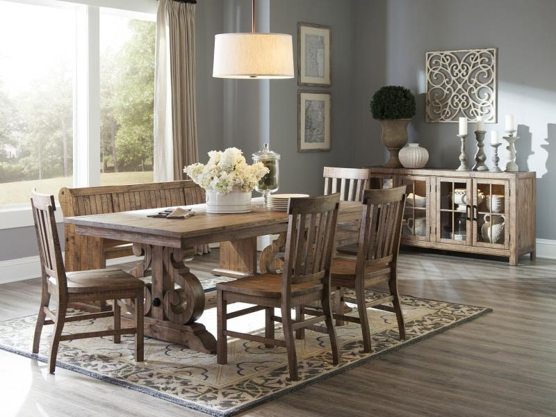 Charming Magnussen Home Dining Room Set Classically Inspired