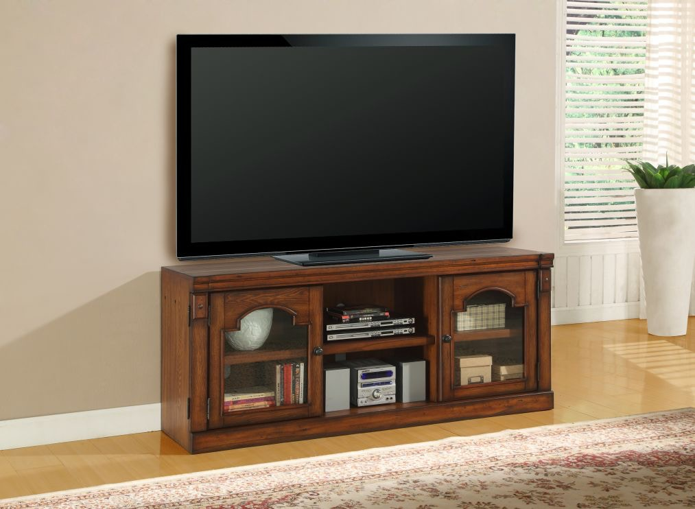 Parker House Home Entertainment Premier Aspen TV Stand At Hansens Furniture